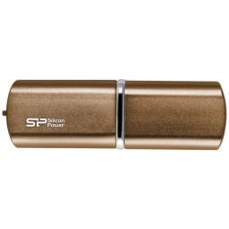 "Память SiliconPower ""Luxmini 720""   8GB, USB2.0 Flash Drive, Bronze (металл.корпус)"