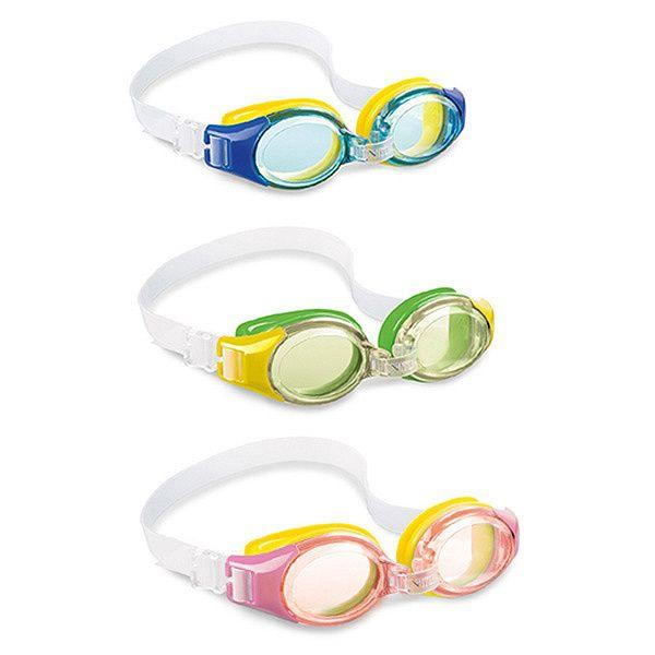 Очки для плавания Junior Goggles, 3 цвета 3-8 лет